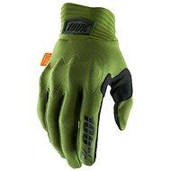100% COGNITO USA army zelená - Cyklistické rukavice