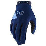 100% RIDECAMP USA modrá - Cyklistické rukavice