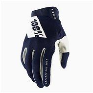 100% iTRACK USA modrá - Cyklistické rukavice
