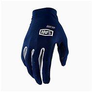 100% SLING USA modrá - Cyklistické rukavice