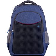 Pixie crew PXB-05 modrá/černá - Školní batoh