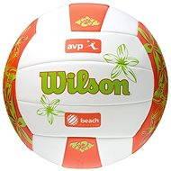 Wilson AVP Hawaii Ora/grn - Beachvolejbalový míč