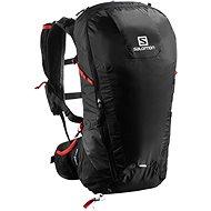 Salomon Peak 30 black/bright red - Sportovní batoh