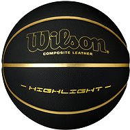 Wilson Highlight 295 Black Gold - Basketbalový míč