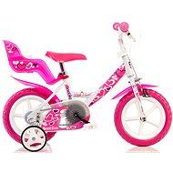 """Dino Bikes 12 pink - Dětské kolo 12"""""""