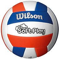 Wilson Super Soft Play Volleyball Red white blue - Volejbalový míč
