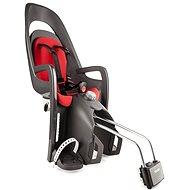 Hamax Caress tmavě šedá/červený - Dětská sedačka na kolo