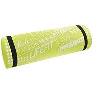 Lifefit Yoga Mat Exclusiv plus zelená - Podložka na cvičení