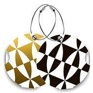 Suitsuit DuoPack Black and Gold - Jmenovky na zavazadlo