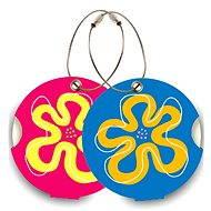 Suitsuit DuoPack Flower - Jmenovky na zavazadlo