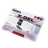 Karakal X-GEL white - Badmintonová omotávka
