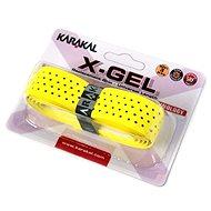 Karakal X-GEL yelow - Badmintonová omotávka