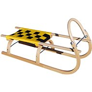 Sulov sled 67, yellow and black - Sledge