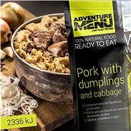 AdventureMenu - pork with potato sticks and sauerkraut - MRE