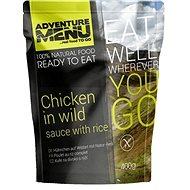 AdventureMenu - Kuřecí na divoko s rýží - Trvanlivé jídlo