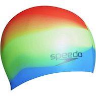 Speedo Multicolor silicon cap - Čepice