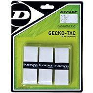 Dunlop Overgrip Gecko-Tac bílý - Tenisová omotávka