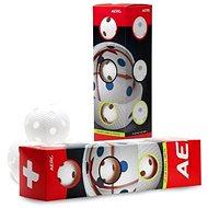 Salming Aero+ Ball 4-pack Bílý - Florbalový míček