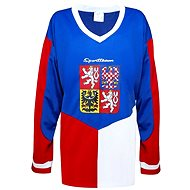 Hokejový dres ČR trikolora XL - Dres