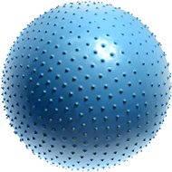 Lifefit - Masážní gymnastický míč modrý 75 cm - Gymnastický míč