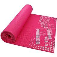 Podložka na cvičení Lifefit Slimfit gymnastická světle růžová