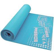 Lifefit Slimfit gymnastická světle tyrkysová - Podložka