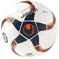 Uhlsport Medusa Nereo - white/petrol/black/fluo red - vel. 4 - Futsalový míč