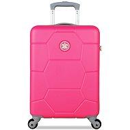 Suitsuit TR-1227/3-S ABS Caretta Shocking Pink - Cestovní kufr