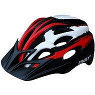 Cyklo helma TRULY FREEDOM vel. L red/black/white - Helma na kolo