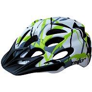 Cyklo helma TRULY FREEDOM vel. M white print - Helma na kolo