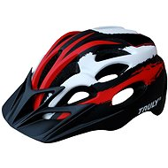 Cyklo helma TRULY FREEDOM vel. M red/black/white - Helma na kolo