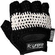 Lifefit Fit černé/bílé vel. XL - Rukavice