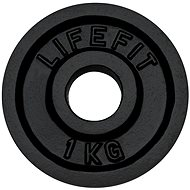 Lifefit weight disc 1kg / 30mm bar - Gym Weight