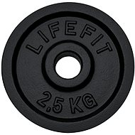 Lifefit disc 2.5 kg/30mm rod - Gym Weight