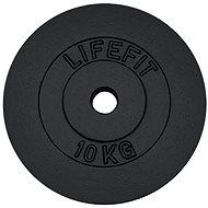 Kotouč Lifefit 10 kg / tyč 30 mm - Závaží na činky