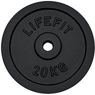 Kotouč Lifefit 20 kg / tyč 30 mm - Závaží na činky