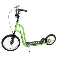 """Lifefit Rider 16""""/12"""" zeleno/černá - Koloběžka"""