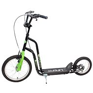"Lifefit Rider 16""/12"" black/green - Scooter"