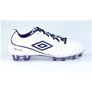 Umbro SPECIALI 4 PRO HG White/Blackberry, Size 44 EU/280mm - Football Boots