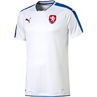 Puma Czech Republic Away white L - Dres