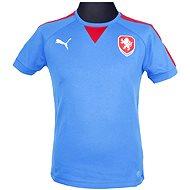 Puma Czech Republic Casuals T-Shirt royal M - Tričko