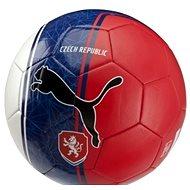 Puma Czech Republic Country Fan Balls Licensed white/blue/red mini - Fotbalový míč