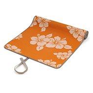 Sissel Yoga Mat flower oranžová - Podložka