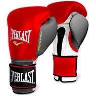 Everlast Powerlock červenošedé - Boxerské rukavice
