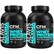 ALAVIS Maxima Whey Protein Concentrate 80% 2200 g 1+1
