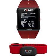 Polar V800 HR červený - Chytré hodinky