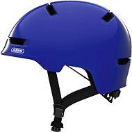 ABUS Scraper Kid 3.0 shiny blue M  - Helma na kolo