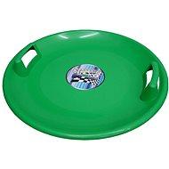 Plastic, 60cm Diameter, Green - Sled