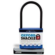 OXFORD zámek U profil SHACKLE12,  (černý/šedý, 310x190 mm, průměr čepu 12 mm)