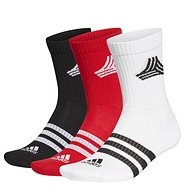 Adidas vel. XXL black, red, white - Ponožky